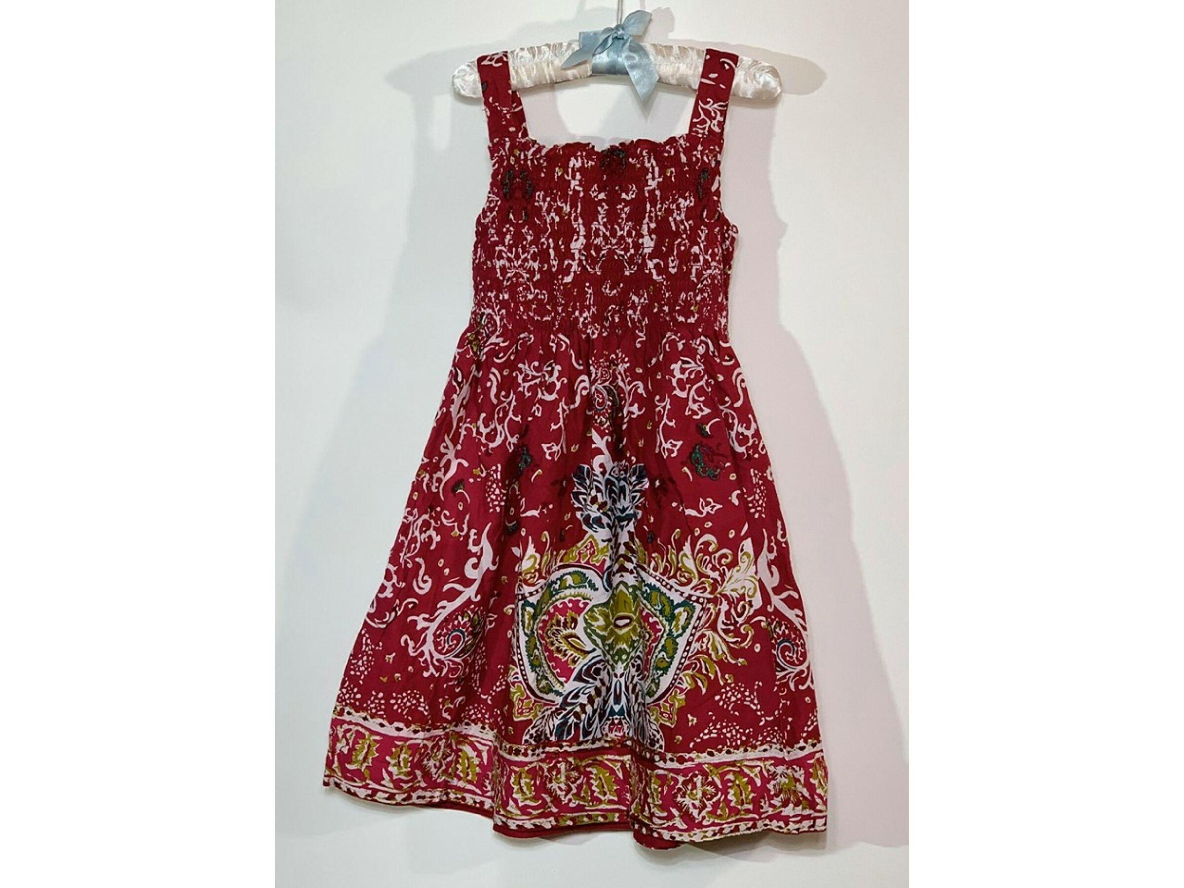 Virágos ruha (6 év)