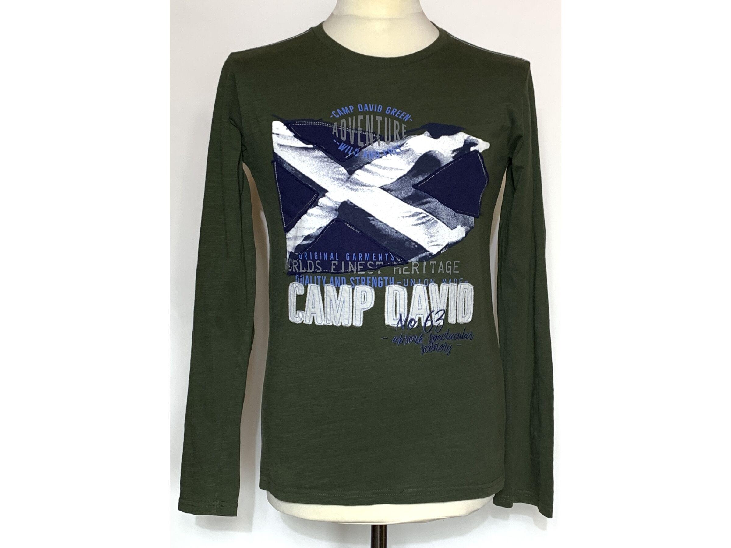 Camp David hosszú ujjú felső (M)