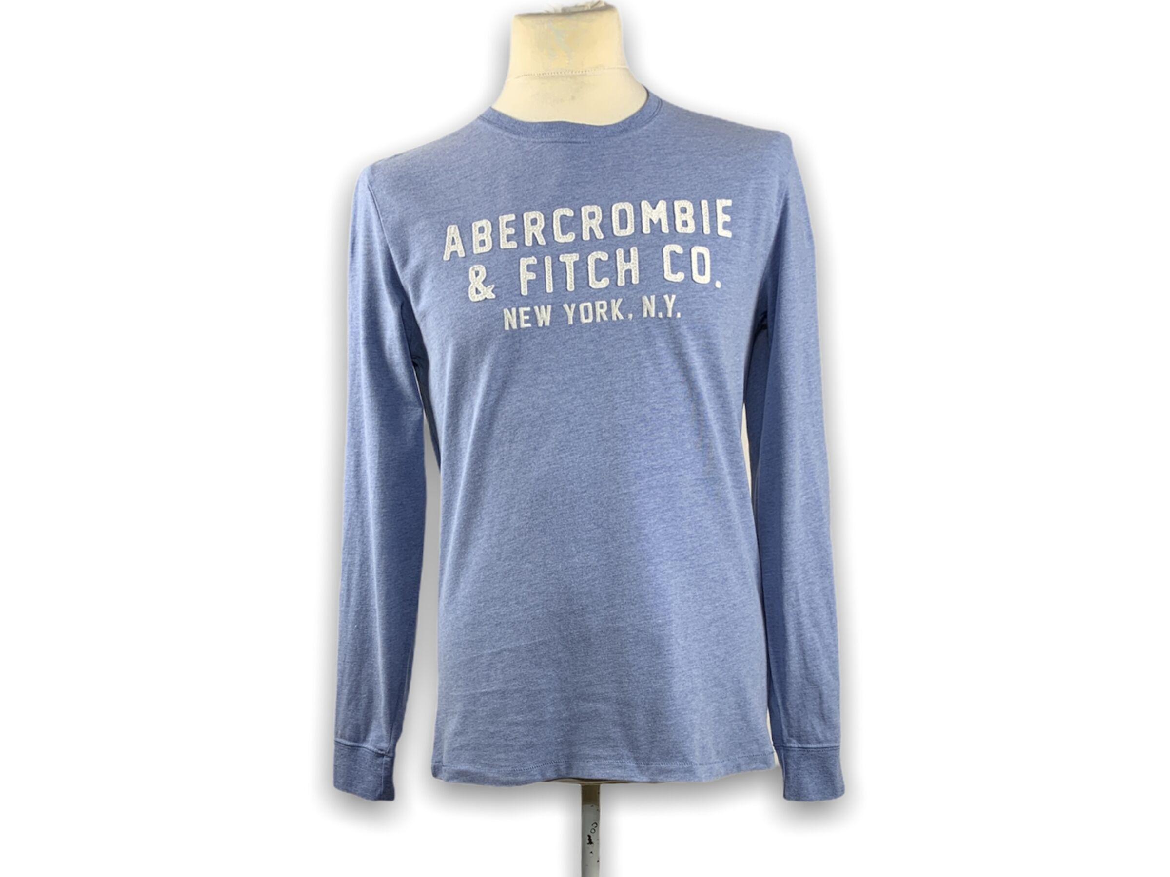Abercrombie & Fitch hosszú ujjú felső (S)
