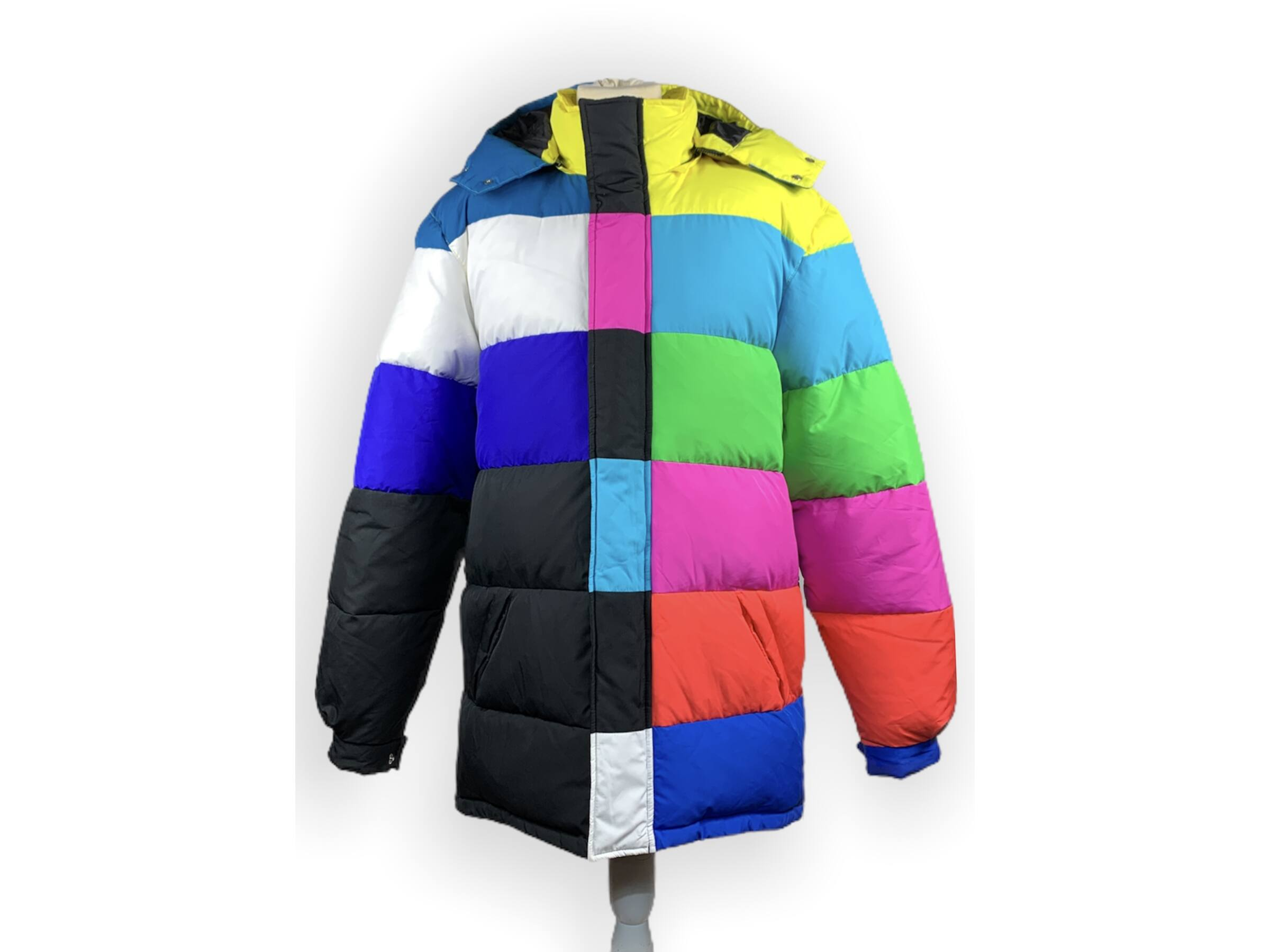 Jeremy Scott X Adidas Originals kabát (L)